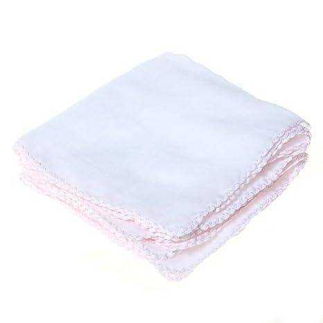 Ecloud Shop 10 X Paño Pañuelo Tela Toallita De Limpieza Facial Desmaquillaje: Amazon.es: Hogar