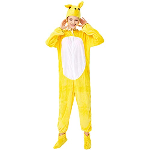 Price comparison product image Adult Halloween Costumes for Couples Cartoon Animal Costume Plush One-Piece Cosplay Pajamas Christmas Onesies Cosplay