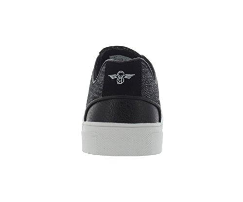 Creative Recreation Mens Nemi Fashion Sneaker Black Linen cPj15Fdxl0