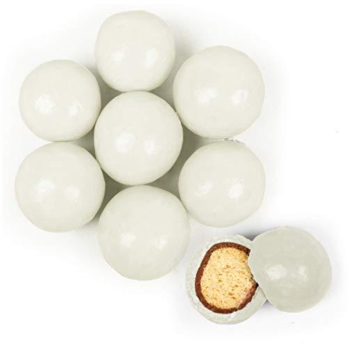 Malted Vanilla Balls Milk - Premium White Milk Chocolate Malted Milk Balls