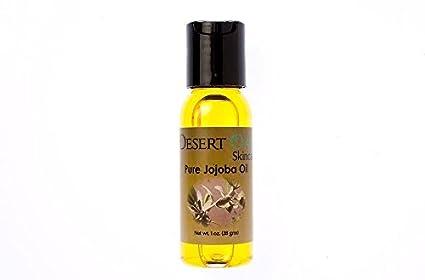 Desert Oasis Skincare Aceite de jojoba dorado puro, 1 oz (29 ml ...