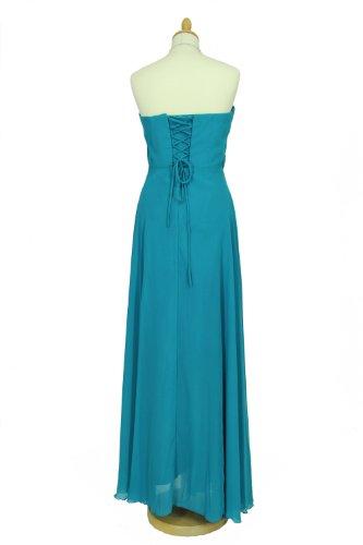 Chiffon 34 vers Bodenlanges Abendkleid Farben Ballkleid Träger Gr Ricarda mit dzzYrgx