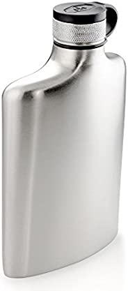 GSI Outdoors Glacier Stainless Hip Flask, 8 fl. oz.