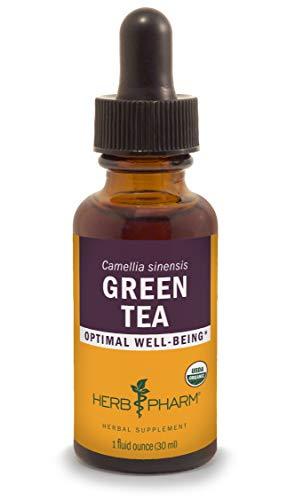 Herb Pharm Certified Organic Green Tea Liquid Extract - 1 Ounce