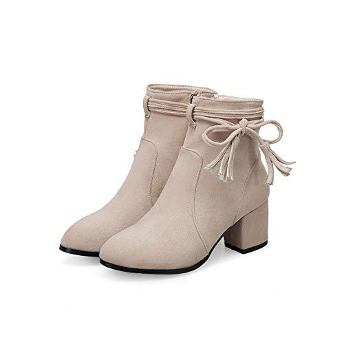 Pulir Bajas Gran Botines Tamaño Alto Botas Para Tacón 46 2018 Gamuza Simples Mujer 32 De Otoño fHfxanFZ
