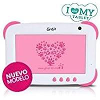 Tablet Ghia any kids q+ 7 47458/5ptos/quad/1gb/8gb/2cam/wifi/android 5.1/rosa