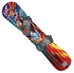ESP 1131 Freeride 130 Intermediate Level Board With Standard Bindings by Emsco
