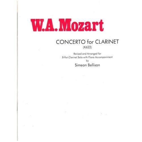Carl Fischer Concerto For Clarinet (K622)