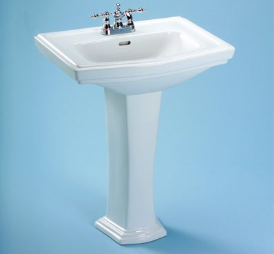 Toto LT780-12 Clayton Pedestal Single Hole Basin, Sedona Beige