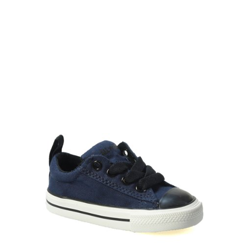 Converse CT Street Ox Athletic Navy Toddlers Trainers-UK 2