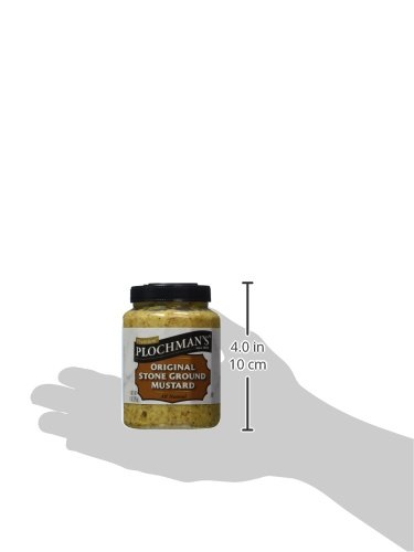 Plochmans Mustard Stone Grnd Pet 9 Oz by Plochman's