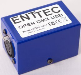 ENTTEC 70303 Open DMX USB Interface (Usb Dmx Interface Lighting Software)