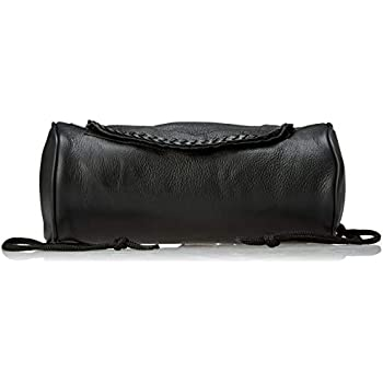 Genuine Soft Leather Universal Motorcycle Tool Bag