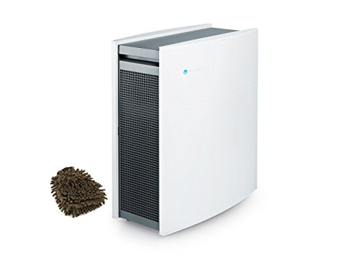 Blueair Classic 405 Air Purifier, HEPASilent Filtration, Wi-fi (Complete Set) w/ Bonus: Premium Microfiber Cleaner Bundle by Blueair