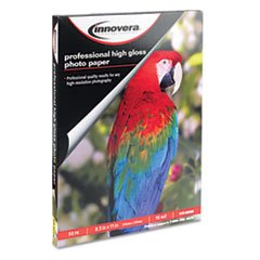 -- High-Gloss Photo Paper, 8-1/2 x 11, 50 Sheets/Pack