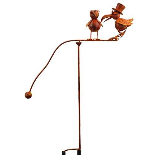 (Red Carpet Studios Balancing Buddies Large Yard Art, Old Crows)