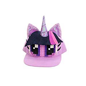 BRICKY BLOCKS Elope My Little Pony Twilight Sparkle Build-On Snapback Kit 104