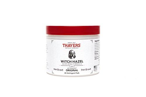 Thayers Original Witch Hazel Astringent Pads with Aloe Vera