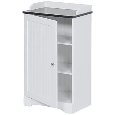 Best Choice Products Bathroom Floor Storage Cabinet w/Versatile Door