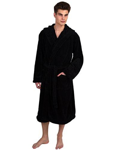 TowelSelections Fleece Hooded Bathrobe Turkey