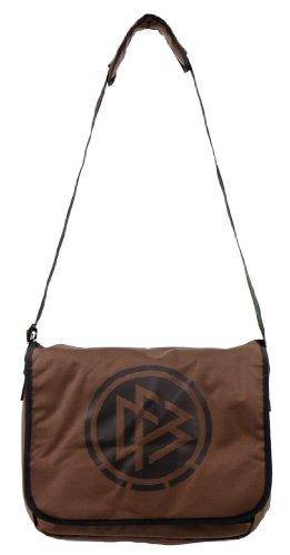 Offizielle DFB Retro Schultertasche - Messanger Bag in braun Lizenzprodukt