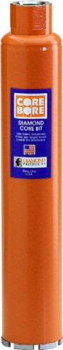 Diamond Products Core Bore 10 6-Inch Heavy Duty Orange Wet Core Bit - Diamond Products Core