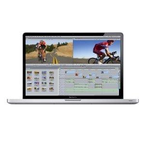 Apple Macbook Pro MC846LL/A 17-Inch AntiGlare Screen, 2.8GHZ Core i7 Laptop , 4GB Ram, 500GB Hard Drive