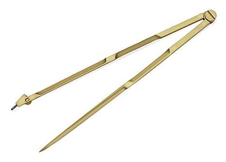 NauticalMart Navigation Brass Compass Divider With Steel Needle Points