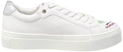 Marco 23762 Zapatillas Blanco Comb White Mujer Tozzi para xH4q5wxr