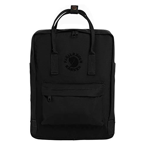 Fjallraven - Re-Kanken Recycled and Recyclable Kanken Backpack for Everyday, Black
