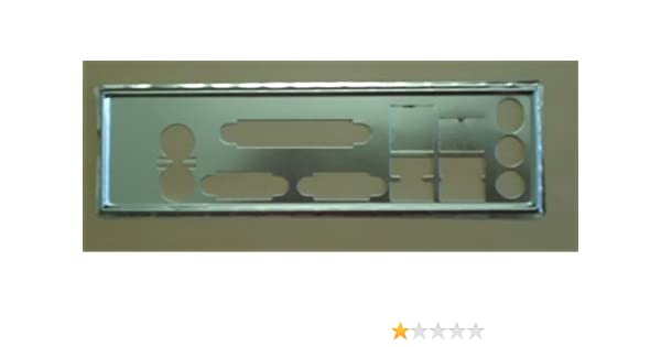 New IO I/O SHIELD back plate for HP Compaq D330 D530 DC5000 motherboard  NO 26