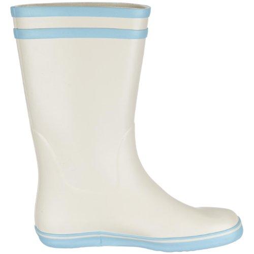 Aigle MALOUINE ROUGE/BLANC 25138 - Botas de agua de caucho para mujer Gris (Grau/gris/bleu)
