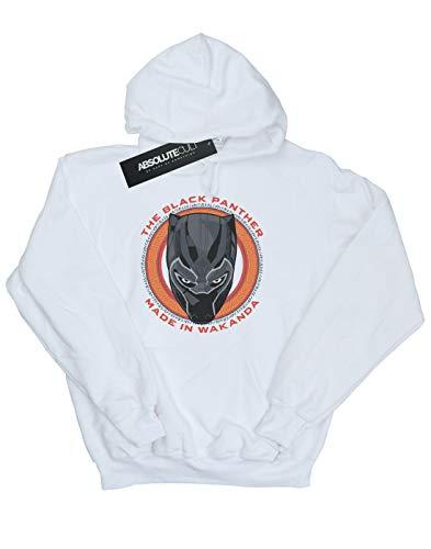 Blanc Garçon À Wakanda Black Panther Capuche In Sweat Made Red Marvel vq6Sd16w