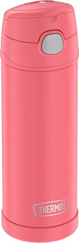 Thermos F4049CO6 Funtainer 16 Ounce Bottle, Coral