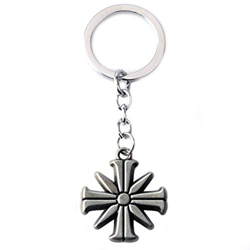 Far Cry 5 Keychain Metal Eden Gate Necklaces