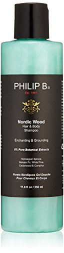 Philip B Nordic Wood 1 Step Hair & Body 11.8-Ounces
