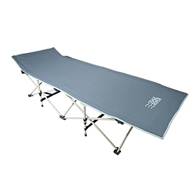 Osage River Folding Camp Cot. Osage River Collapsible Folding Camp Cot with Carry Bag. Rated up to 300 Lbs. yet weighs only 13 Lbs. For Camping, Traveling, and Home Lounging
