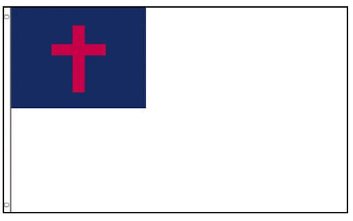 Moon Continental Army NEW 3x5 Large Christian Flag 3x5 ft Ba