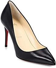 Christian Louboutin Black Pigalle Follies 85MM Patent Leather Pumps New