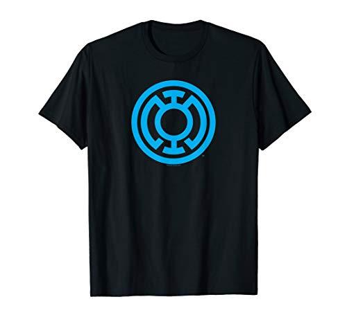 Green Lantern Light Blue Emblem  T-Shirt (Green Lantern Blue Lantern)