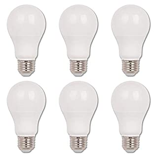 Westinghouse Lighting 5514520 5514500 11 (75 Watt Equivalent) Omni A19 Dimmable Energy Star LED Light Bulb with Medium Base, 6-Pack, Daylight (5000 Kelvin)