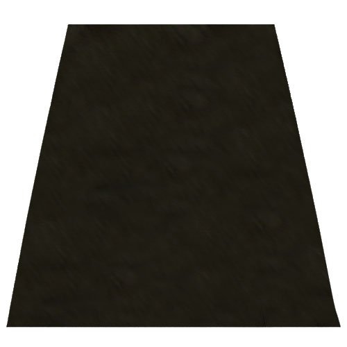(Black Drum Mat 6' X 5' x 1/8