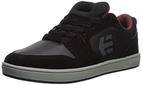 Etnies Men's Verano Skate Shoe, Black/Grey/RED, 11 Medium US