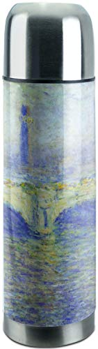 - Waterloo Bridge by Claude Monet Stainless Steel Thermos