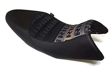 Amazoncom Kawasaki Z125 Seat Custom Carbon Black Stitching For