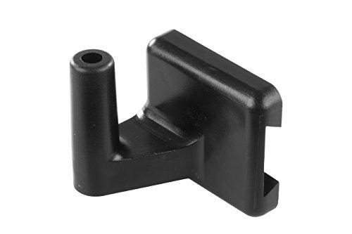 JR Products QQ-HKBK-A - Soporte para alcachofa de Ducha, Color Negro