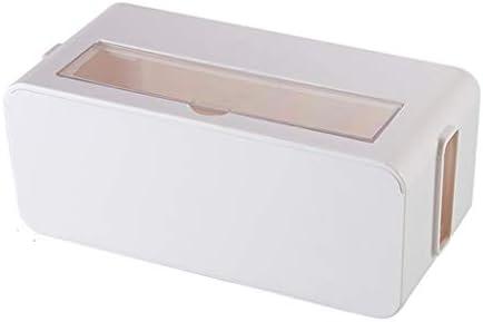 Brmind Caja de Acabado de Cable ABS, Caja de Almacenamiento de ...