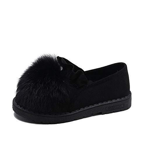 HOESCZS Stiefel Martin Martin Martin Schnee Stiefel Niedlich Dicke Erbsen Schuhe Schuhe Damenmode Wilden Winter Lässig Plus Baumwolle Plateauschuhe d3036b