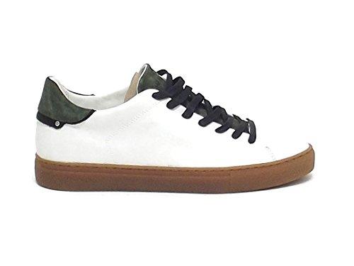 Crime 11207KS1 Sneakers Uomo Bianco Descuento Confiable GzFRA