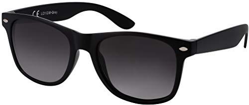 La Optica B.L.M. UV400 CAT 3 CE Unisex Sonnenbrille – Farben, Einzel-/Doppelpacks, Verspiegelt